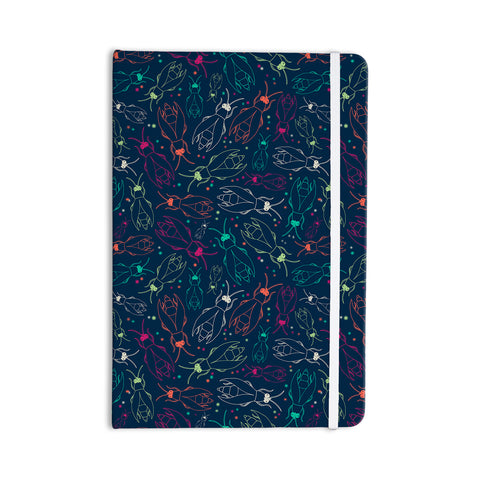"Laura Escalante ""Fireflies Midnight Garden"" Dark Blue Everything Notebook - Outlet Item"
