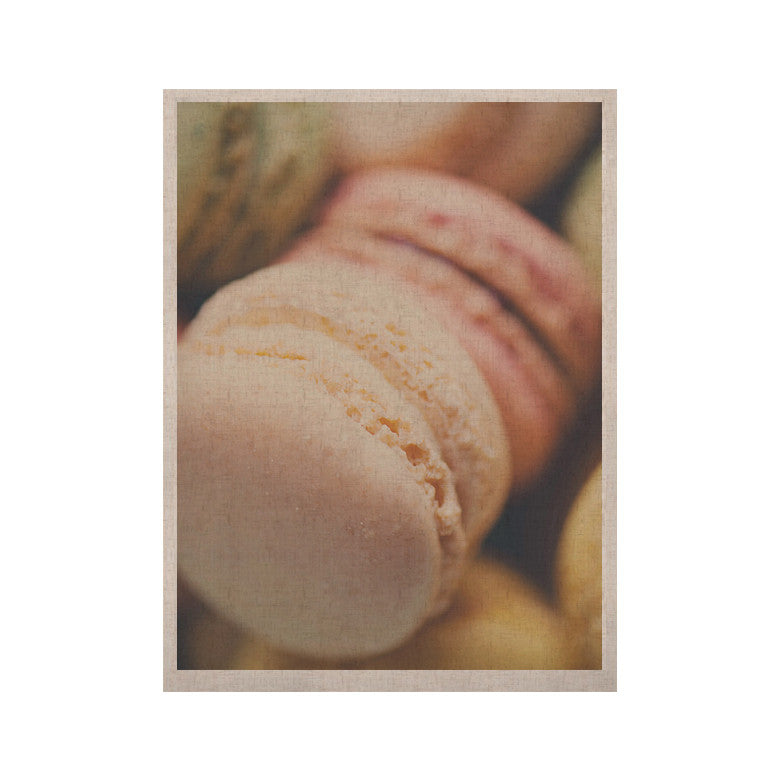 "Laura Evans ""Macaroon Goodness"" Pastel Food KESS Naturals Canvas (Frame not Included) - KESS InHouse  - 1"