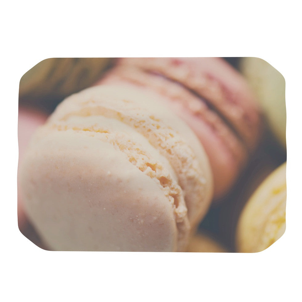 "Laura Evans ""Macaroon Goodness"" Pastel Food Place Mat - KESS InHouse"