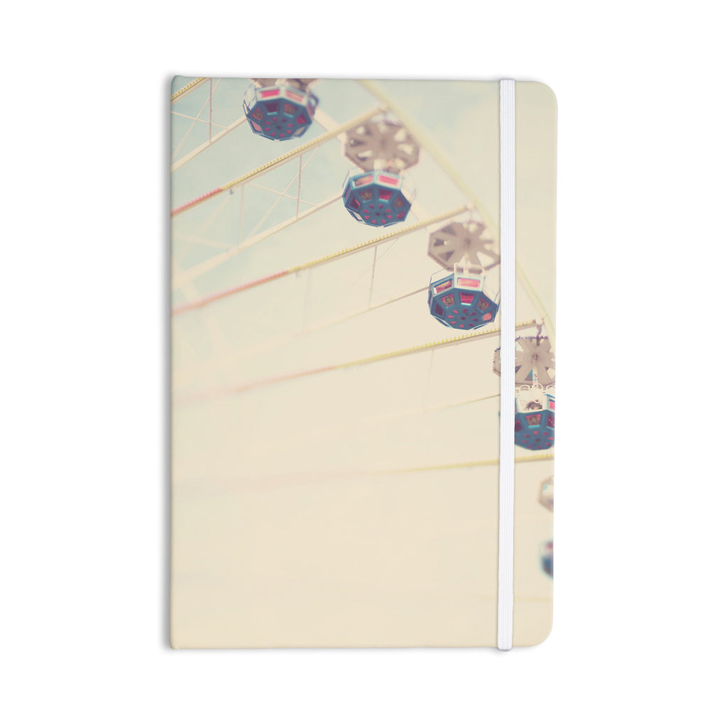 "Laura Evans ""It's All A Blur"" Ferris Wheel Everything Notebook - KESS InHouse  - 1"