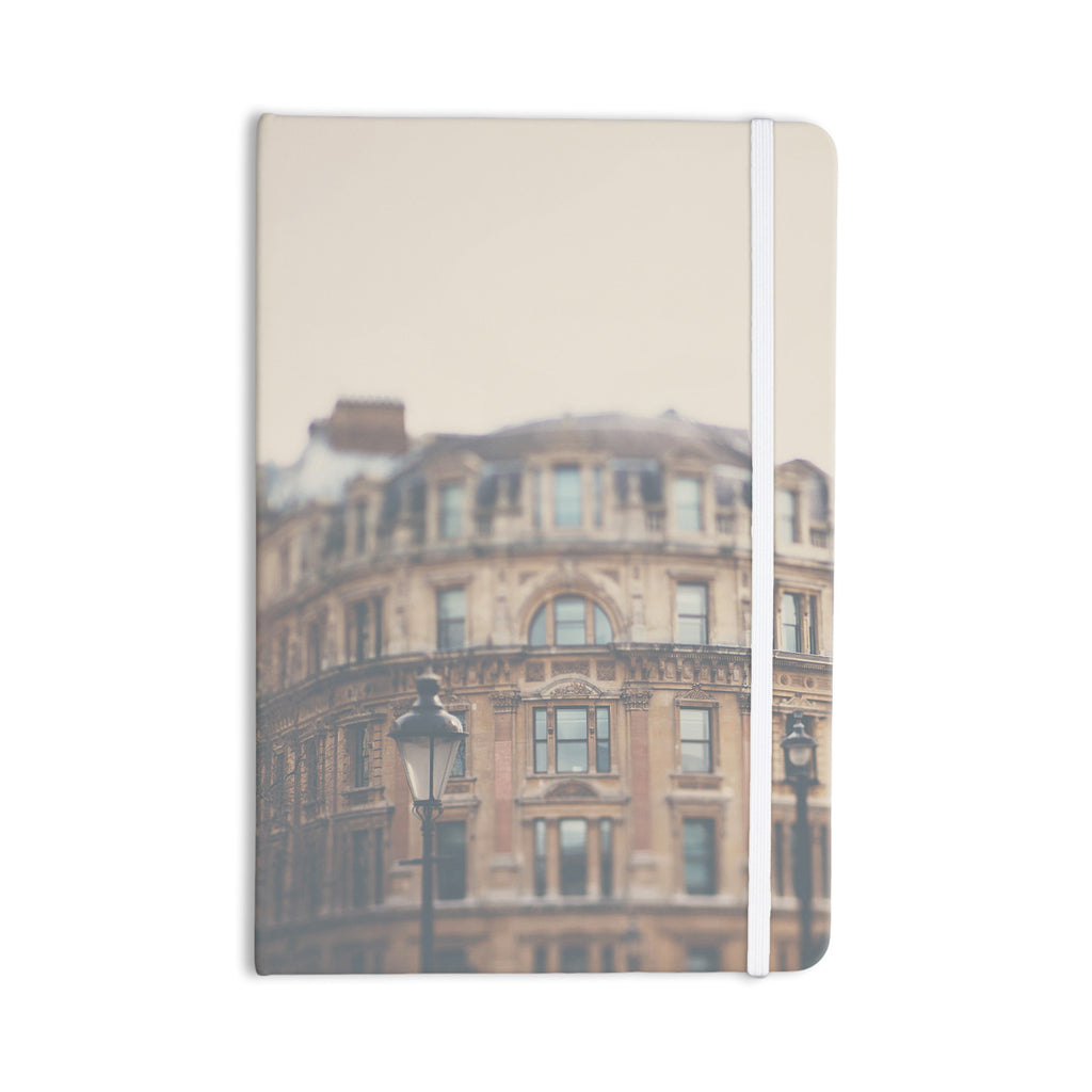 "Laura Evans ""London Town"" Brown Everything Notebook - KESS InHouse  - 1"