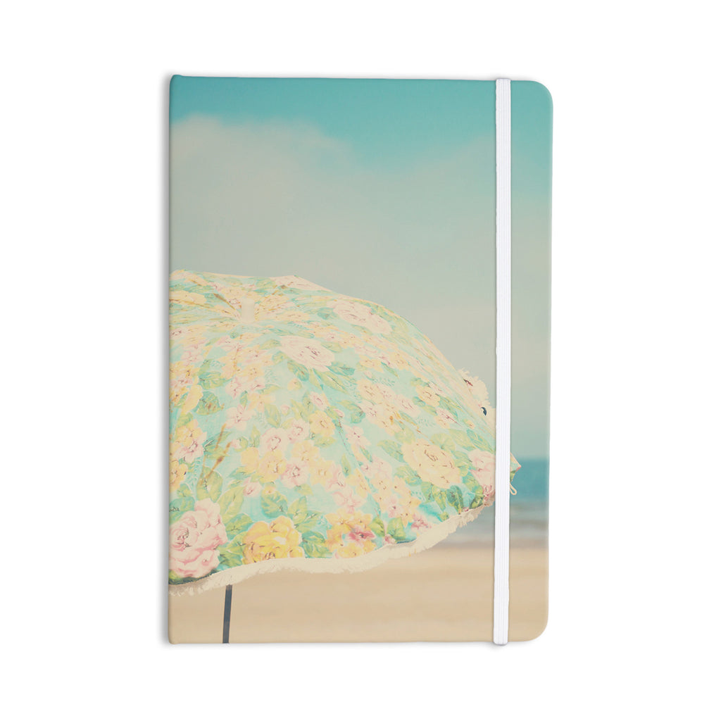 "Laura Evans ""A Summer Afternoon"" Blue Teal Everything Notebook - KESS InHouse  - 1"