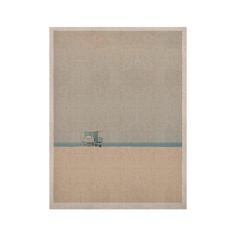 "Laura Evans ""Tower 17"" Coastal KESS Naturals Canvas (Frame not Included) - KESS InHouse  - 1"
