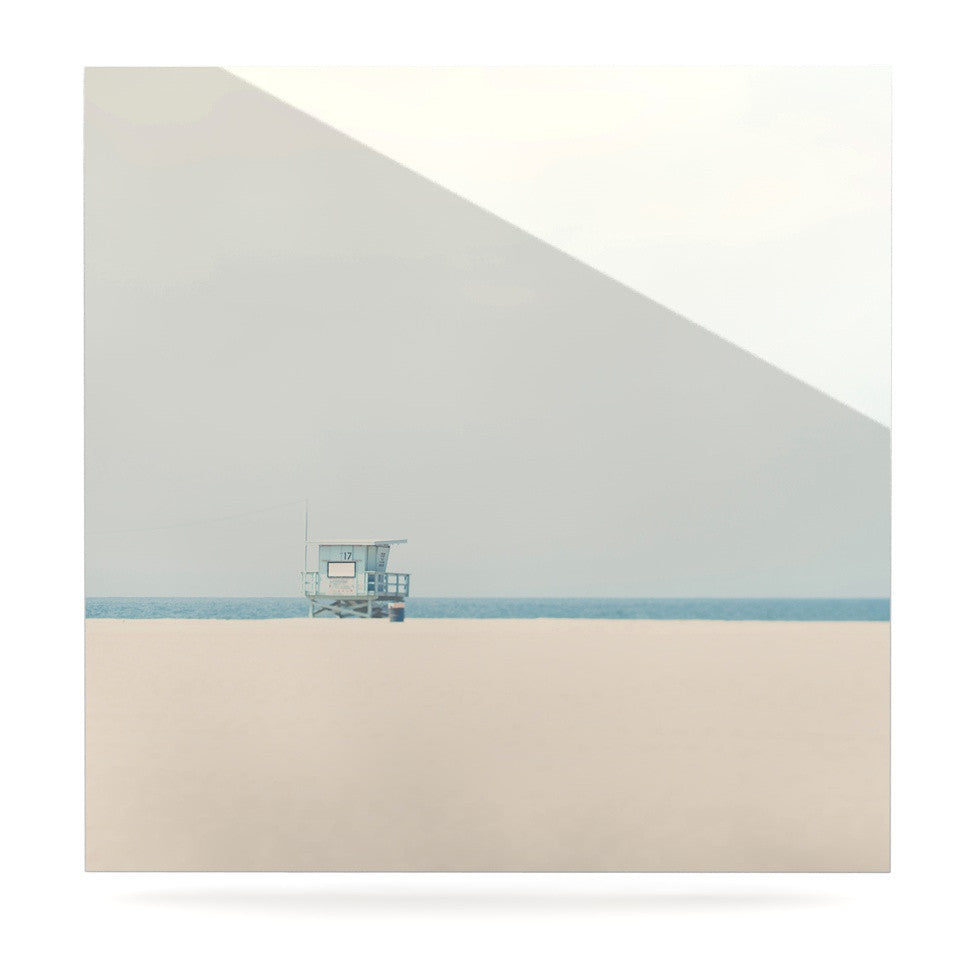 "Laura Evans ""Tower 17"" Coastal Luxe Square Panel - KESS InHouse  - 1"