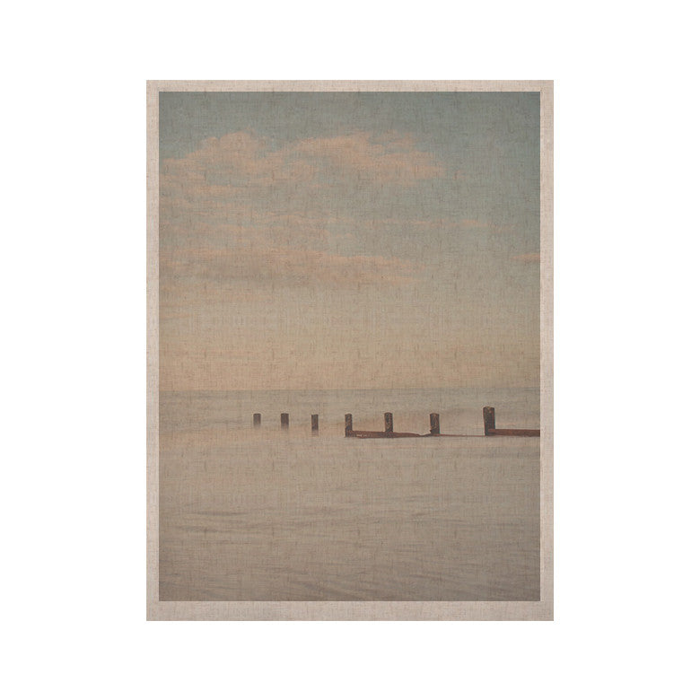 "Laura Evans ""The Rising Tide"" Brown Gray KESS Naturals Canvas (Frame not Included) - KESS InHouse  - 1"