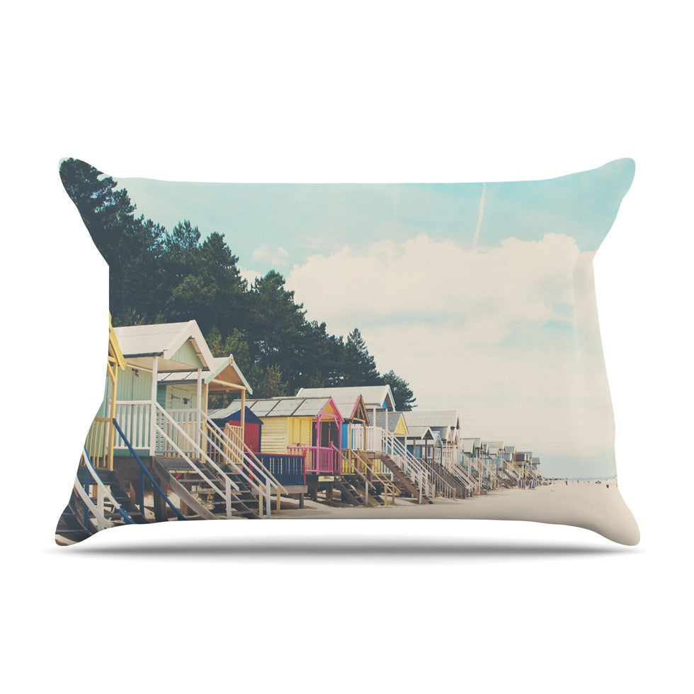 "Laura Evans ""Small Spaces"" Beach Coastal Pillow Sham - KESS InHouse"