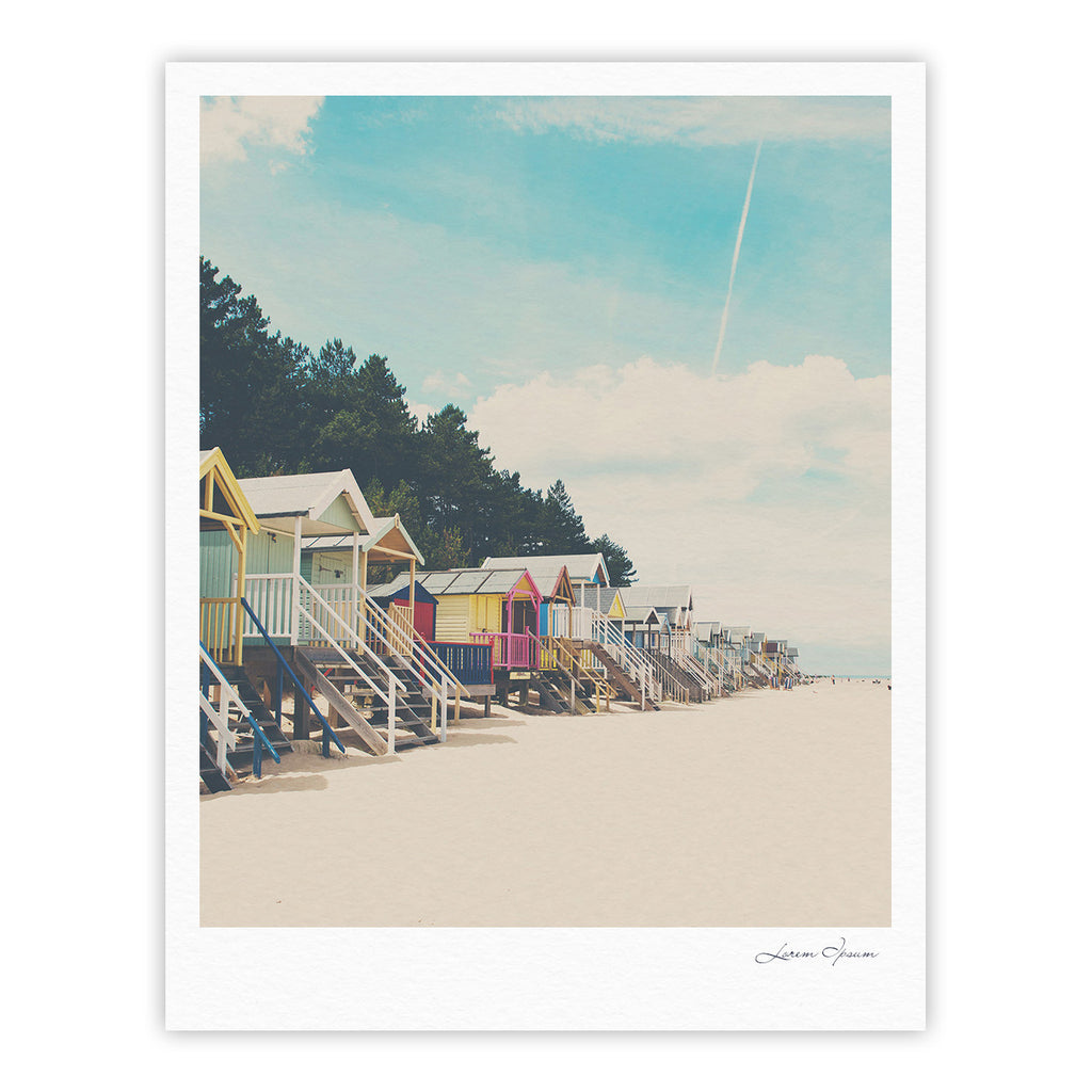 "Laura Evans ""Small Spaces"" Beach Coastal Fine Art Gallery Print - KESS InHouse"
