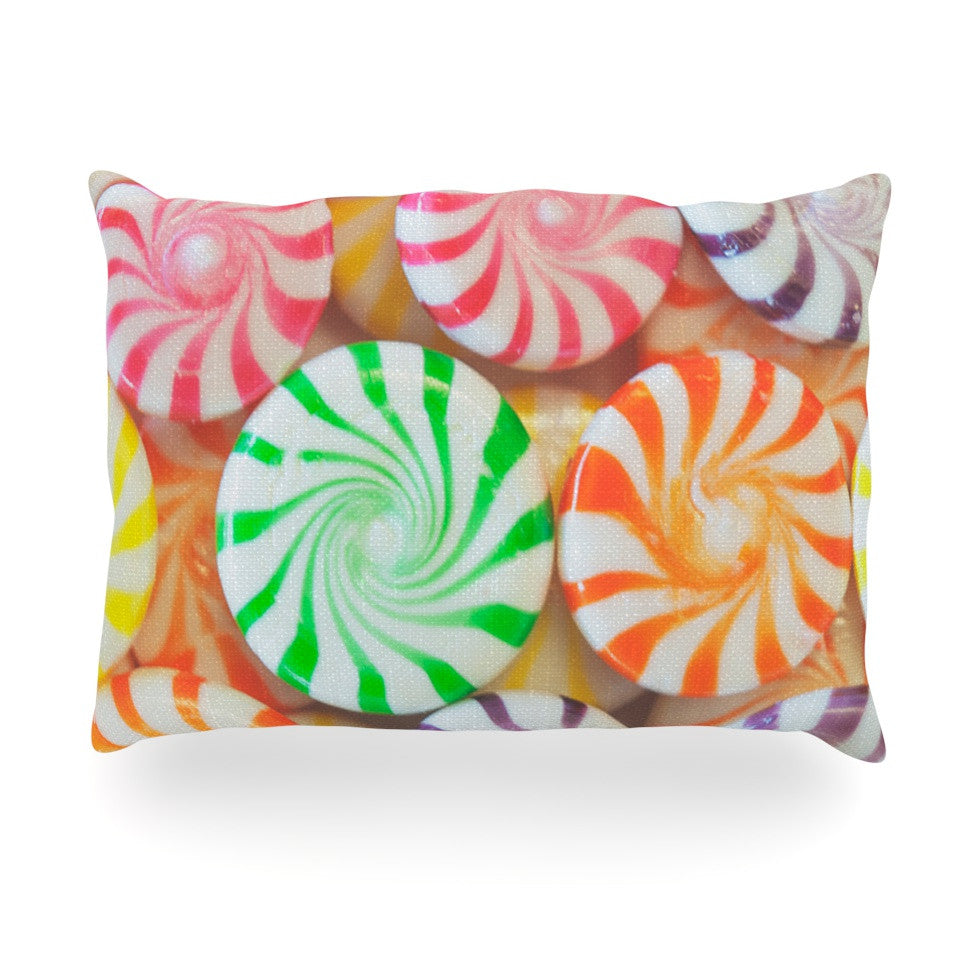 "Libertad Leal ""I Want Candy"" Oblong Pillow - KESS InHouse"