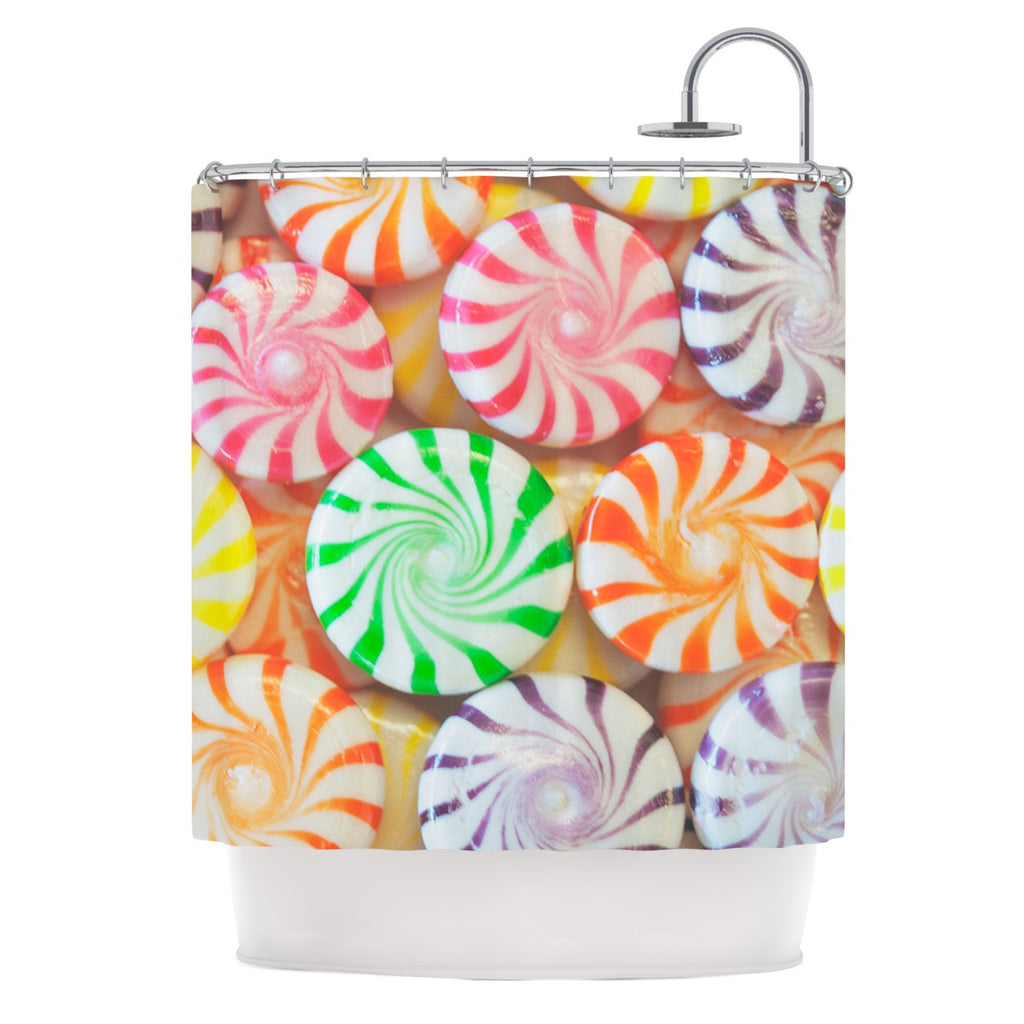 Libertad Leal I Want Candy Shower Curtain