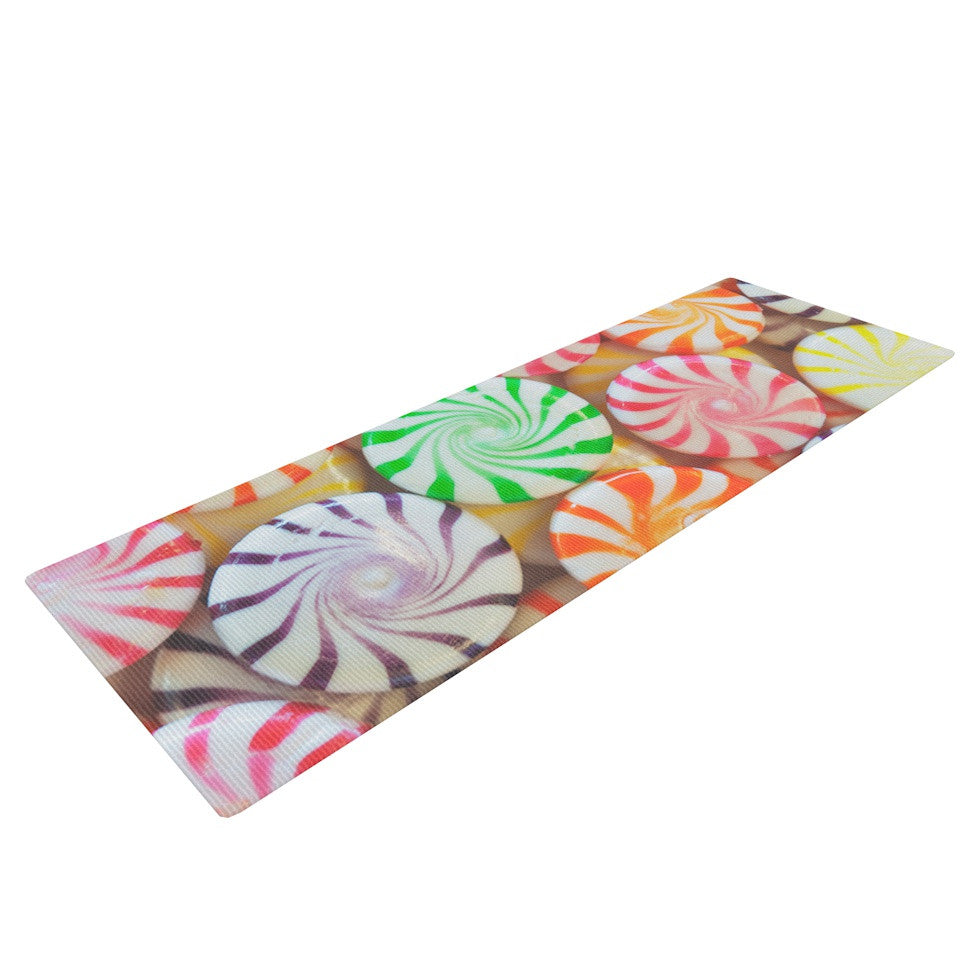 "Libertad Leal ""I Want Candy"" Yoga Mat - KESS InHouse  - 1"