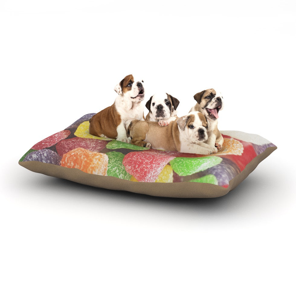 "Libertad Leal ""I Want Gum Drops"" Dog Bed - KESS InHouse  - 1"