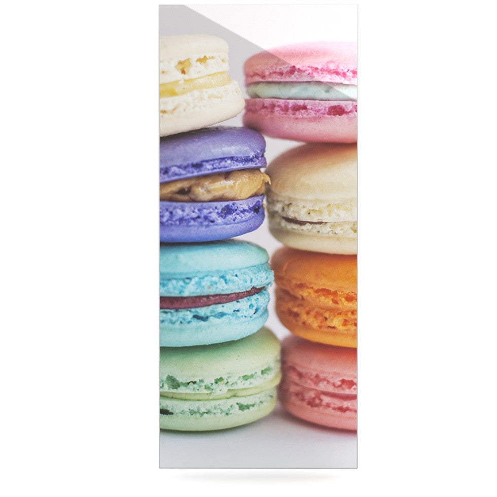 "Libertad Leal ""I Want Macaroons"" Luxe Rectangle Panel - KESS InHouse  - 1"