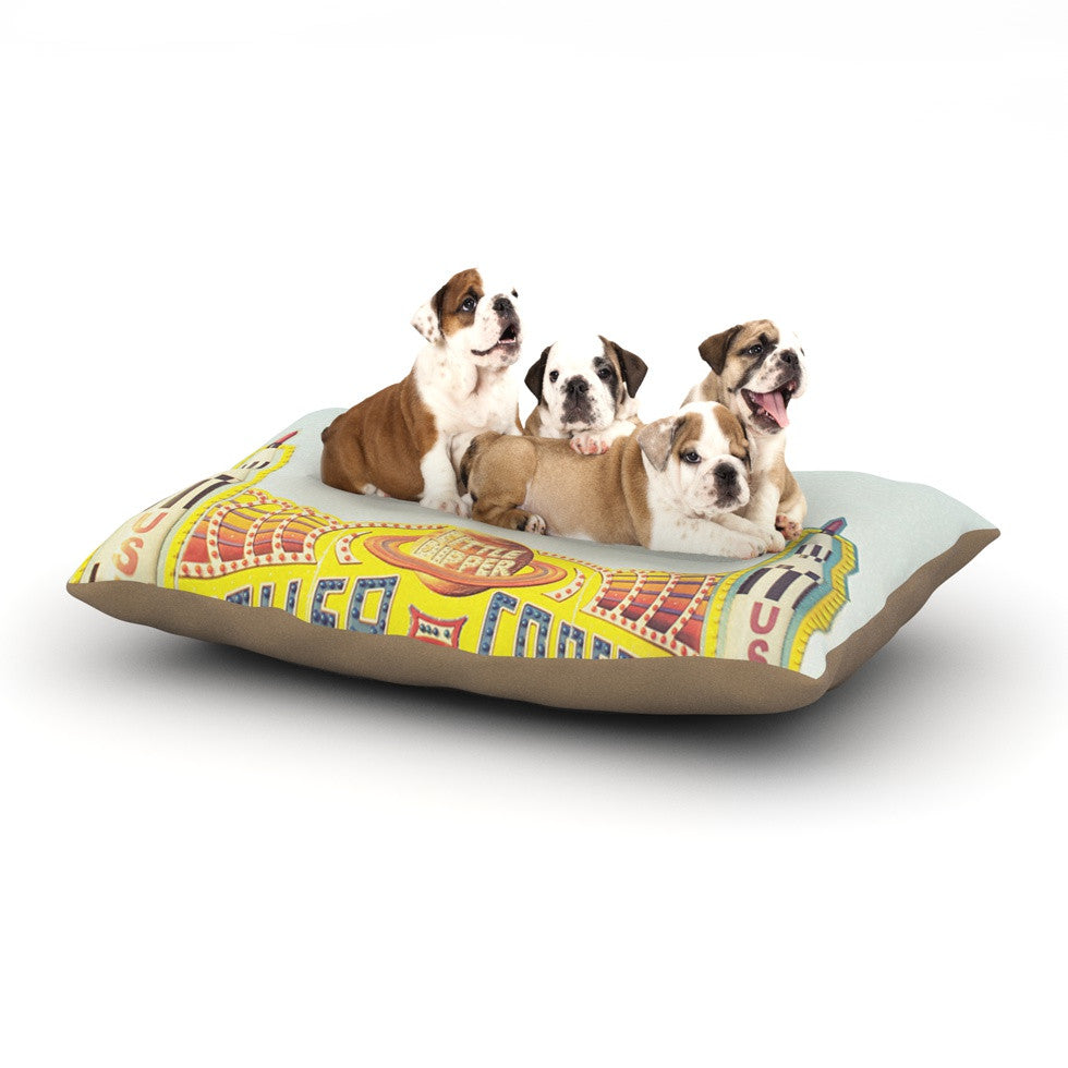 "Libertad Leal ""Life is a Rollercoaster"" Dog Bed - KESS InHouse  - 1"
