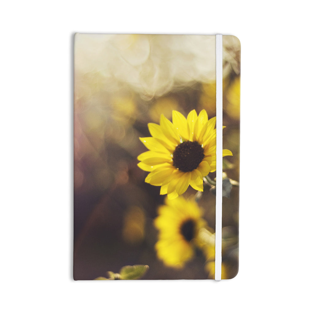 "Libertad Leal ""Magic Light"" Flower Everything Notebook - KESS InHouse  - 1"