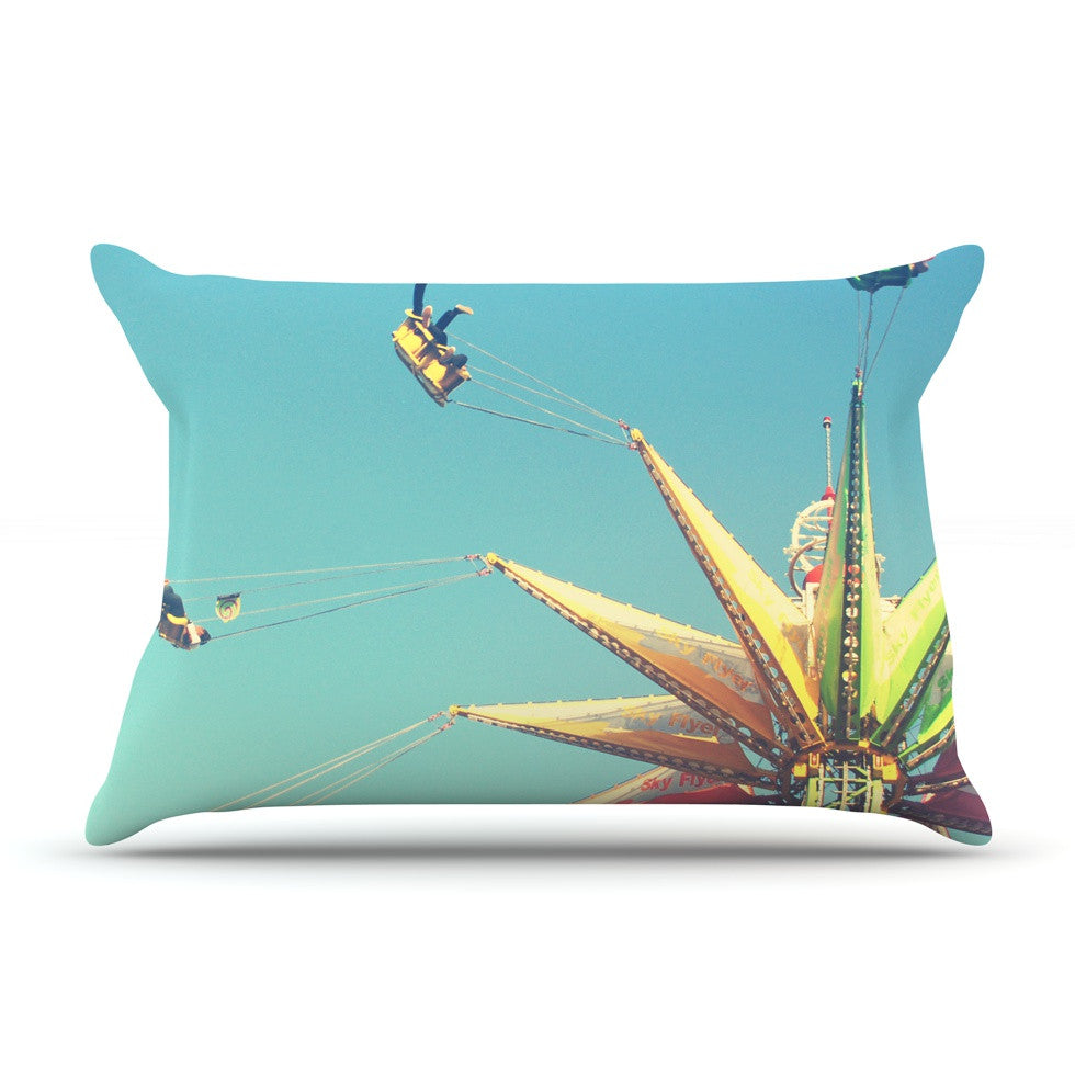 "Libertad Leal ""Flying Chairs"" Pillow Sham - KESS InHouse"