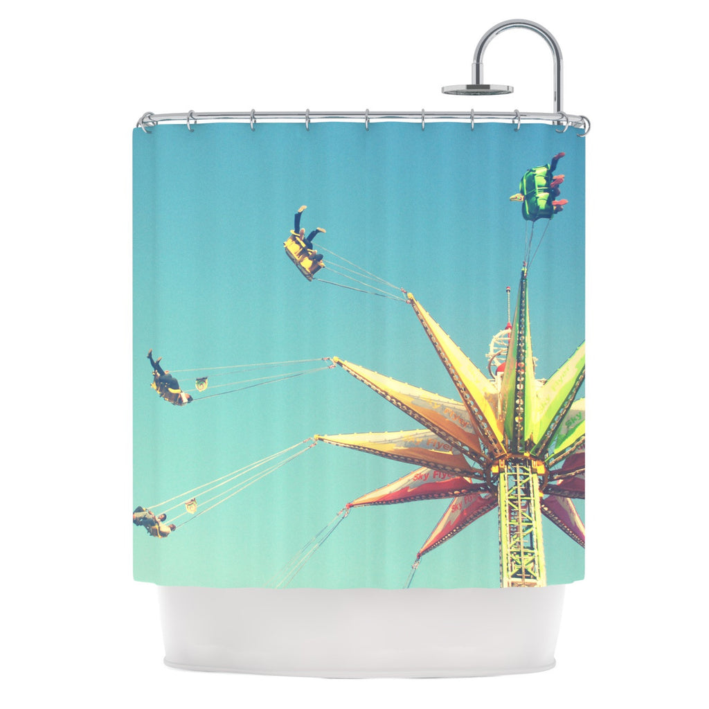 "Libertad Leal ""Flying Chairs"" Shower Curtain - KESS InHouse"