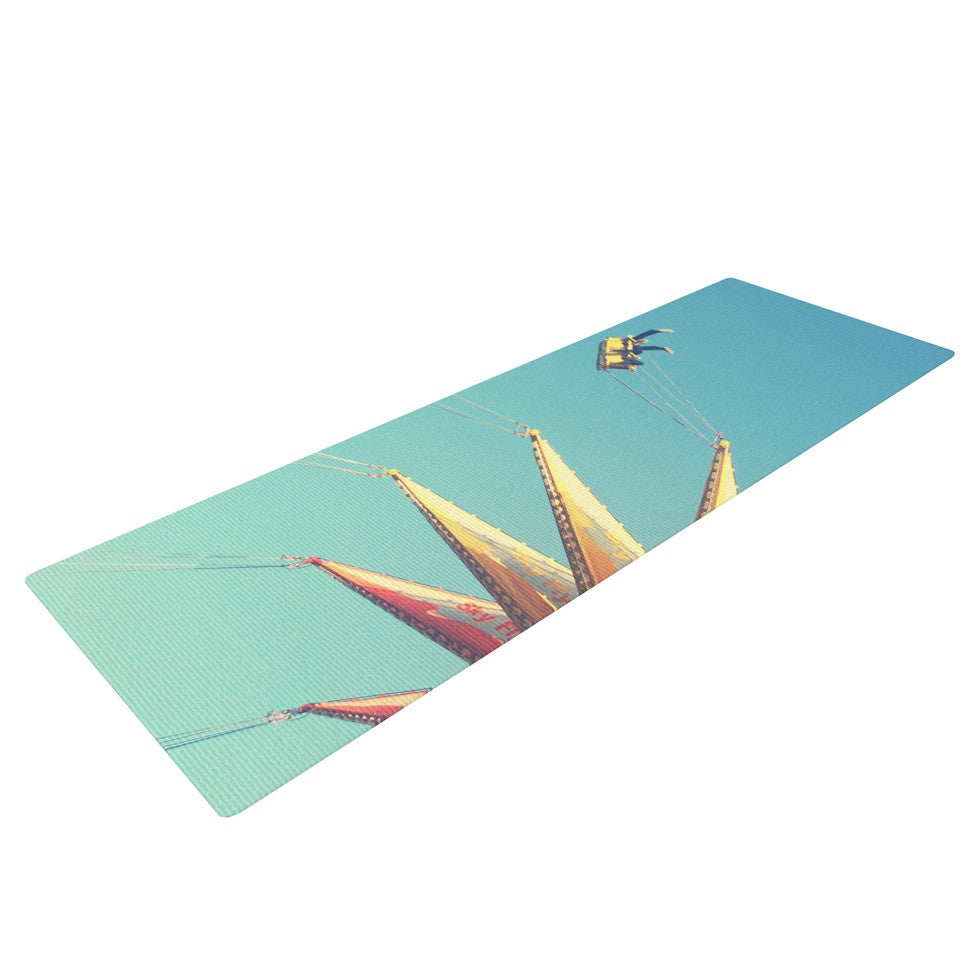"Libertad Leal ""Flying Chairs"" Yoga Mat - KESS InHouse  - 1"