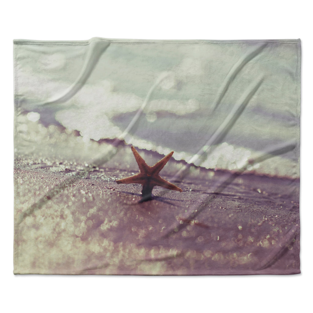 "Libertad Leal ""You are a Star"" Fleece Throw Blanket"