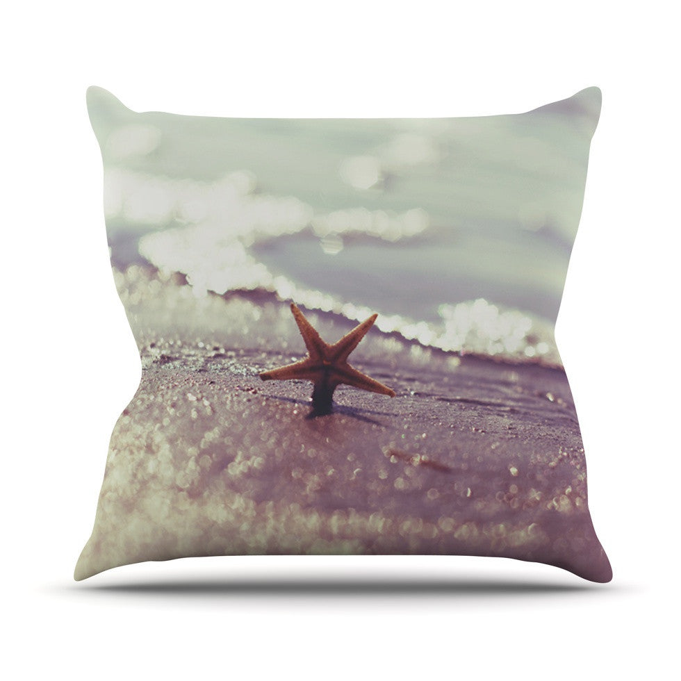 "Libertad Leal ""You are a Star"" Outdoor Throw Pillow - KESS InHouse  - 1"