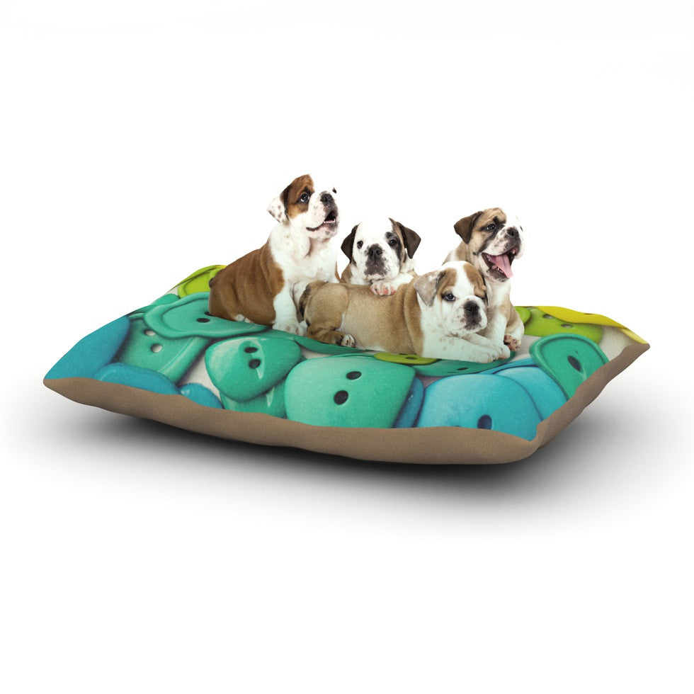 "Libertad Leal ""Cute as a Button"" Dog Bed - KESS InHouse  - 1"