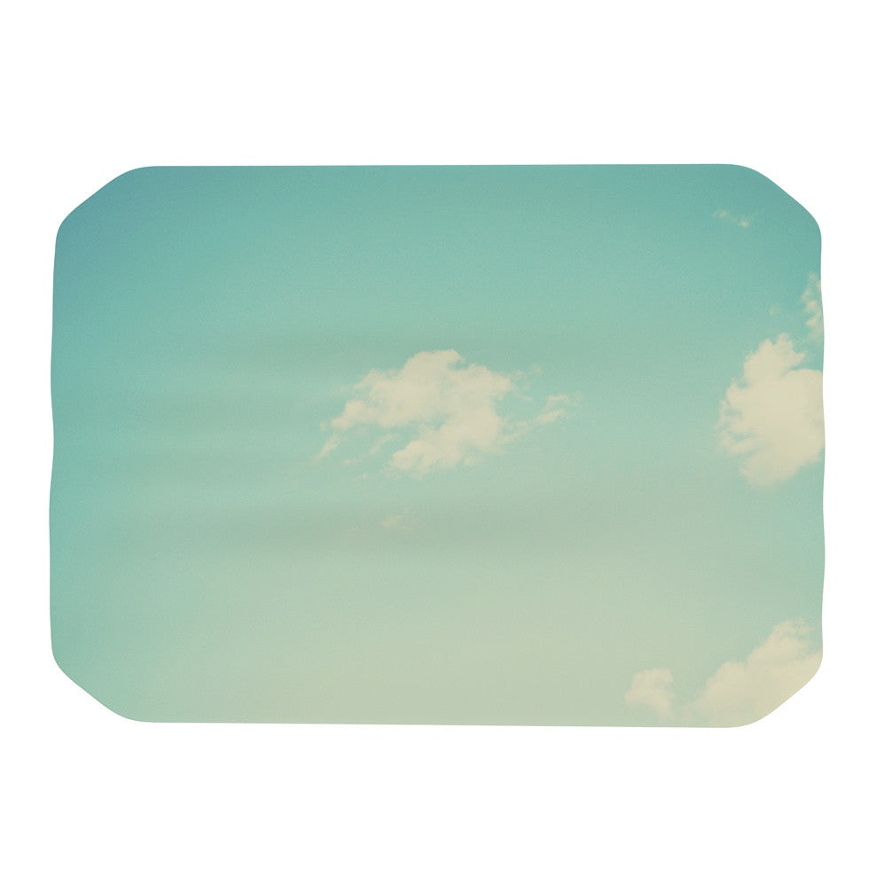 "Libertad Leal ""Cloud 9"" Blue Sky Place Mat - KESS InHouse"