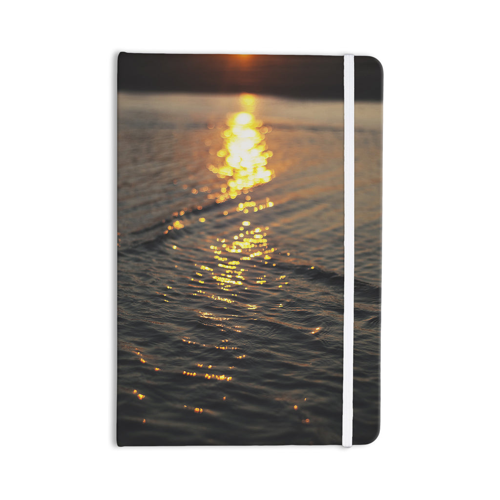 "Libertad Leal ""Still Waters"" Sunset Everything Notebook - KESS InHouse  - 1"