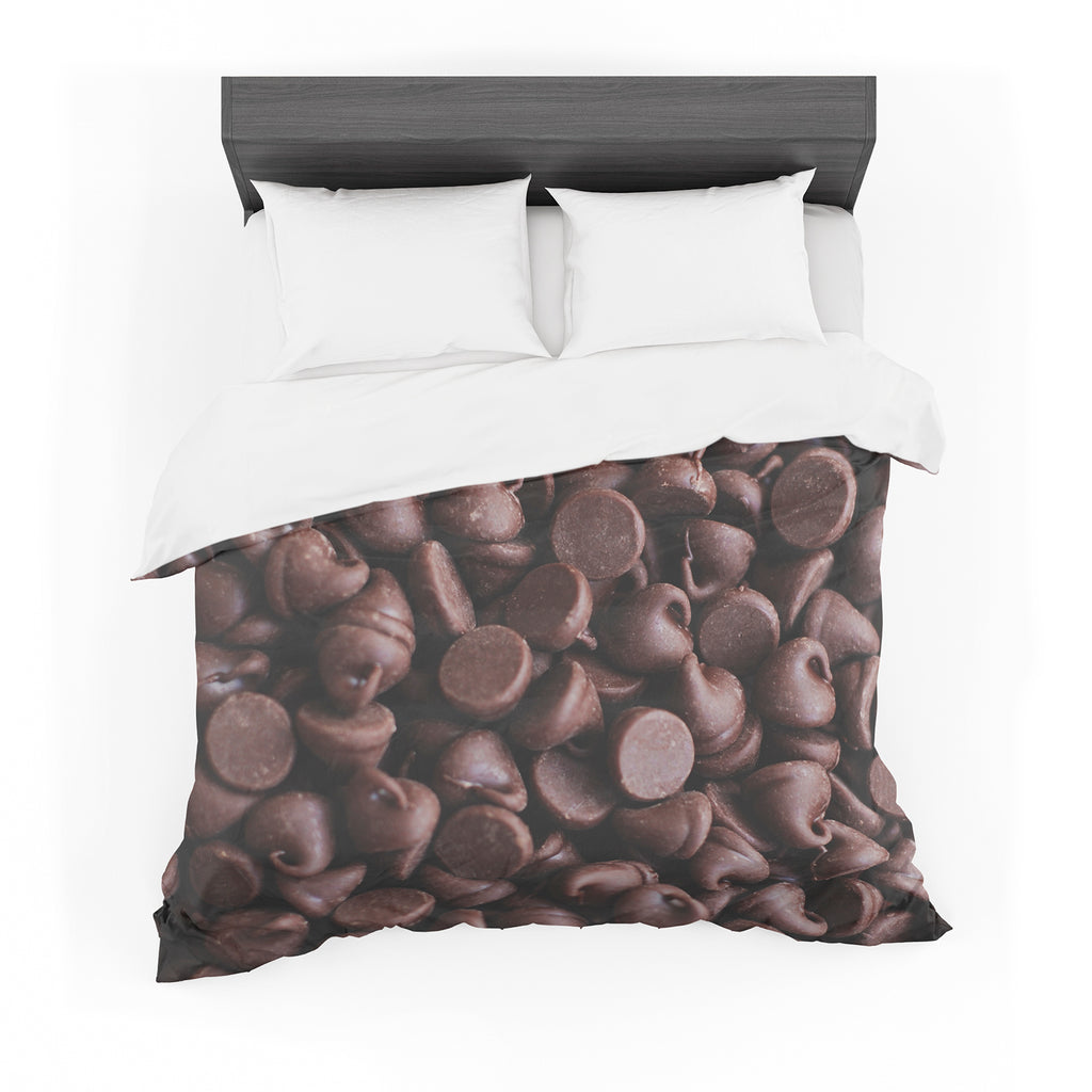"Libertad Leal ""Yay! Chocolate"" Candy Cotton Duvet"