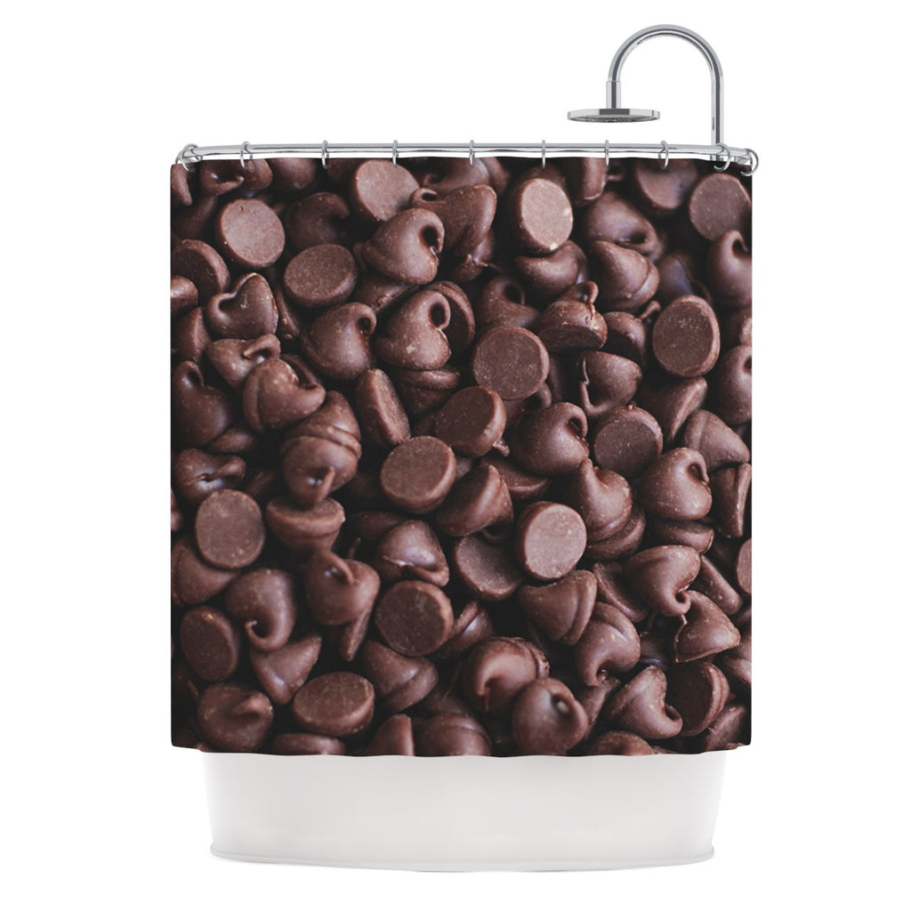 "Libertad Leal ""Yay! Chocolate"" Candy Shower Curtain - KESS InHouse"