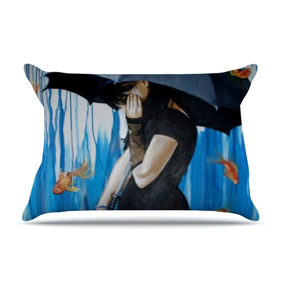 "Lydia Martin ""Sink or Swim"" Pillow Sham - KESS InHouse"
