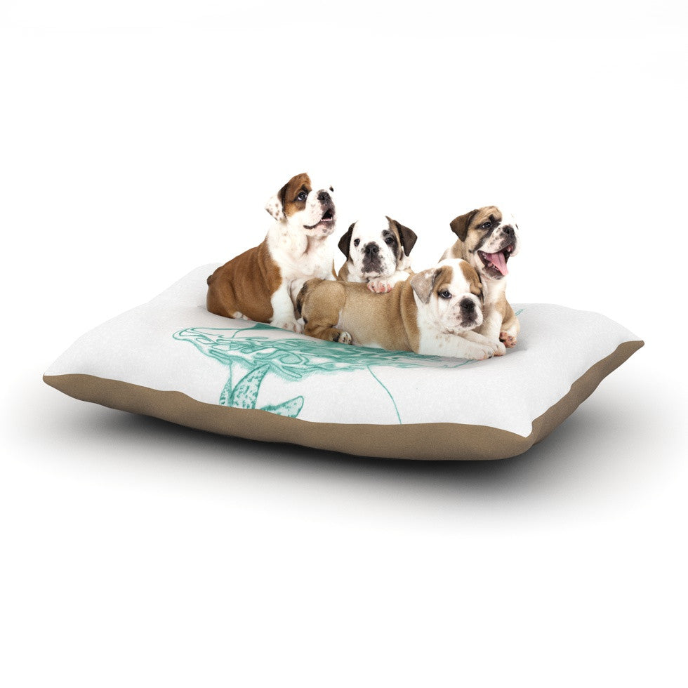"Lydia Martin ""Queen of the Sea""  Dog Bed - KESS InHouse  - 1"