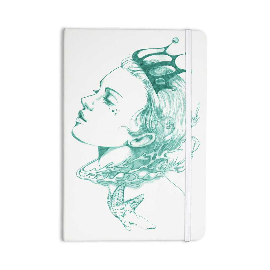 "Lydia Martin ""Queen of the Sea Green"" Everything Notebook - KESS InHouse  - 1"