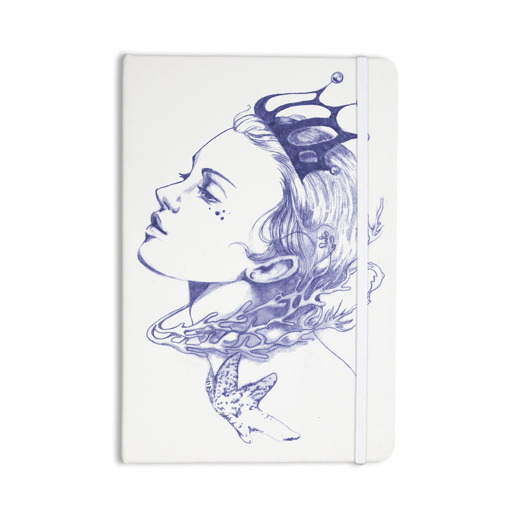 "Lydia Martin ""Queen of the Sea Purple"" Everything Notebook - KESS InHouse  - 1"