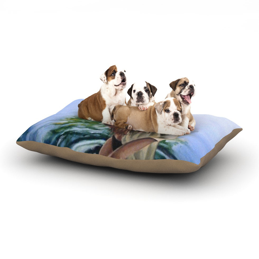 "Lydia Martin ""Knee Deep""  Dog Bed - KESS InHouse  - 1"