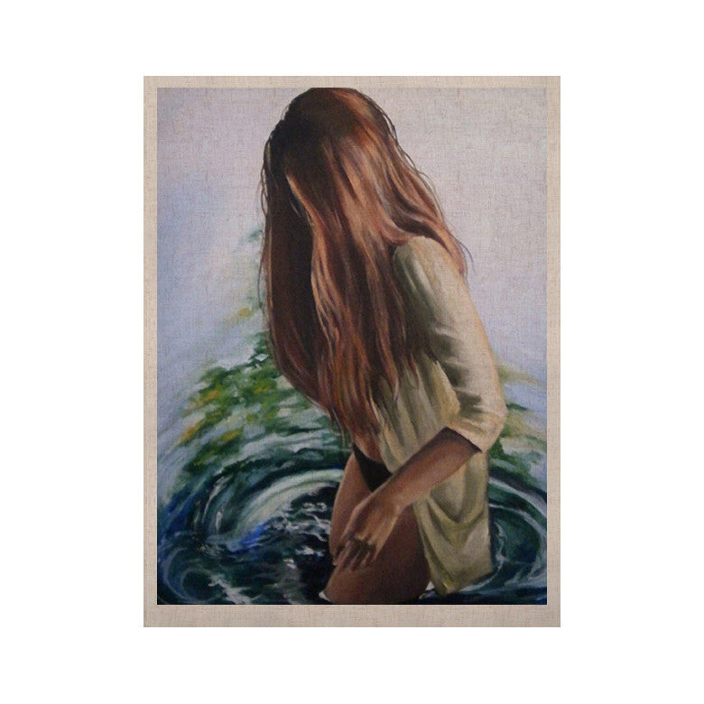"Lydia Martin ""Knee Deep"" KESS Naturals Canvas (Frame not Included) - KESS InHouse"