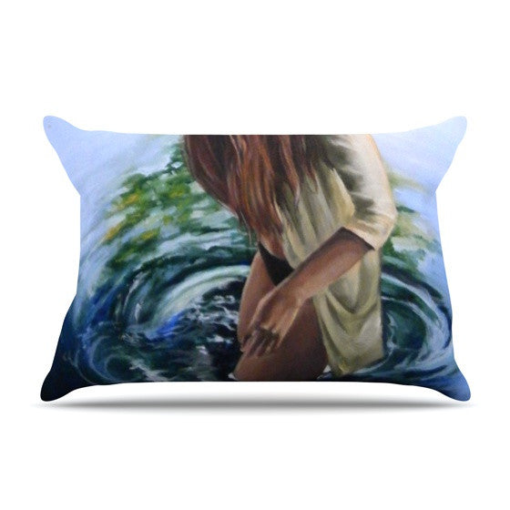 "Lydia Martin ""Knee Deep"" Pillow Sham - KESS InHouse"