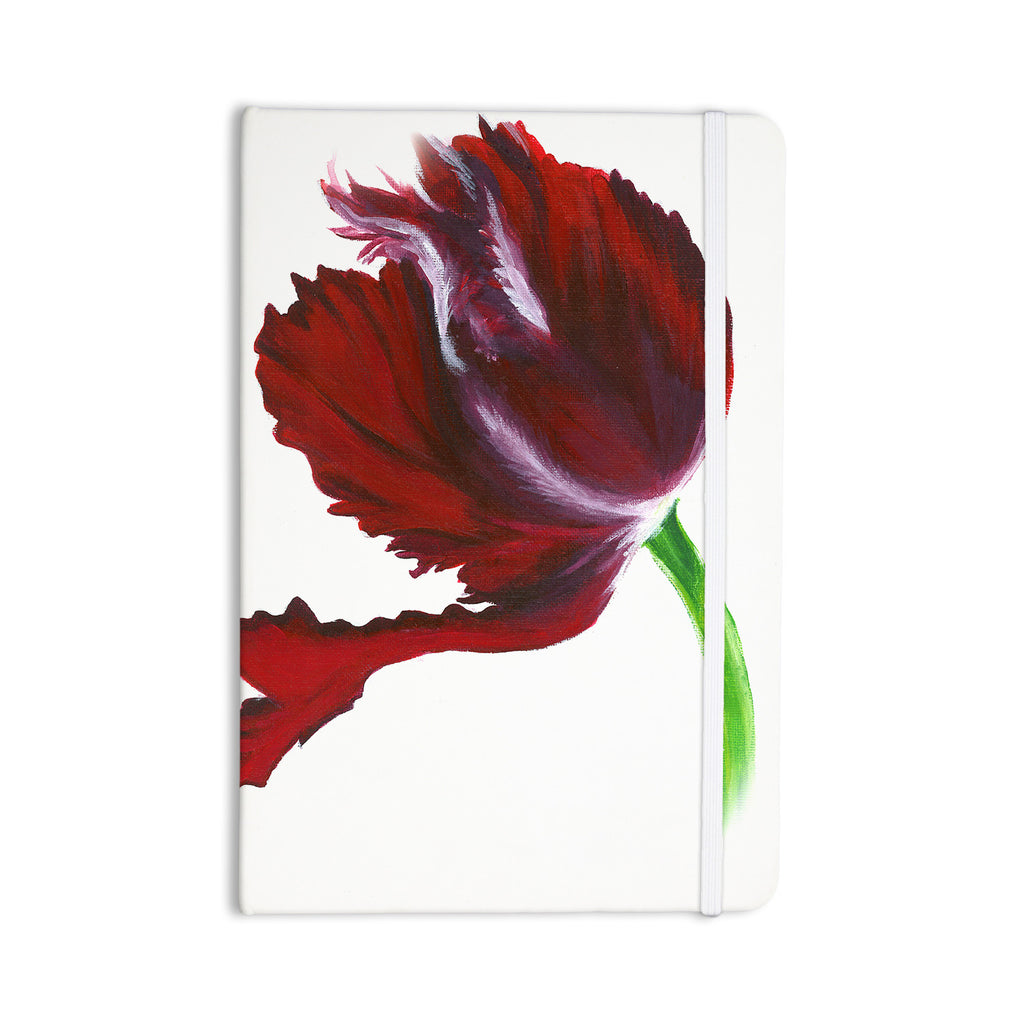 "Lydia Martin ""Dark Purple Tulip"" Everything Notebook - KESS InHouse  - 1"