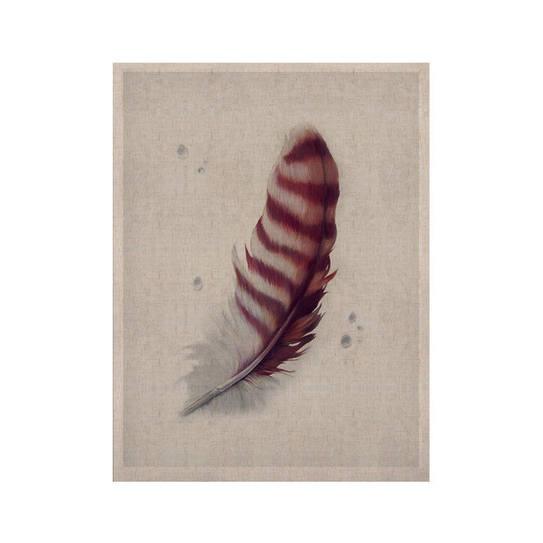 "Lydia Martin ""The Feather"" KESS Naturals Canvas (Frame not Included) - KESS InHouse  - 1"