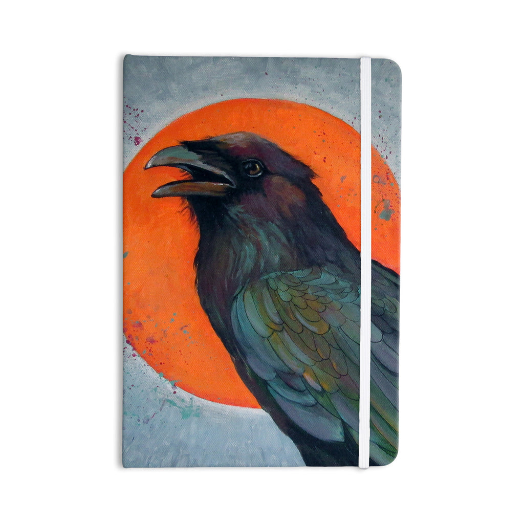 "Lydia Martin ""Raven Sun"" Everything Notebook - KESS InHouse  - 1"