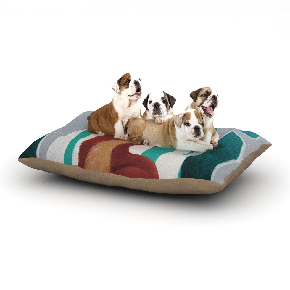 "Lydia Martin ""Fox Forest"" Dog Bed - KESS InHouse  - 1"