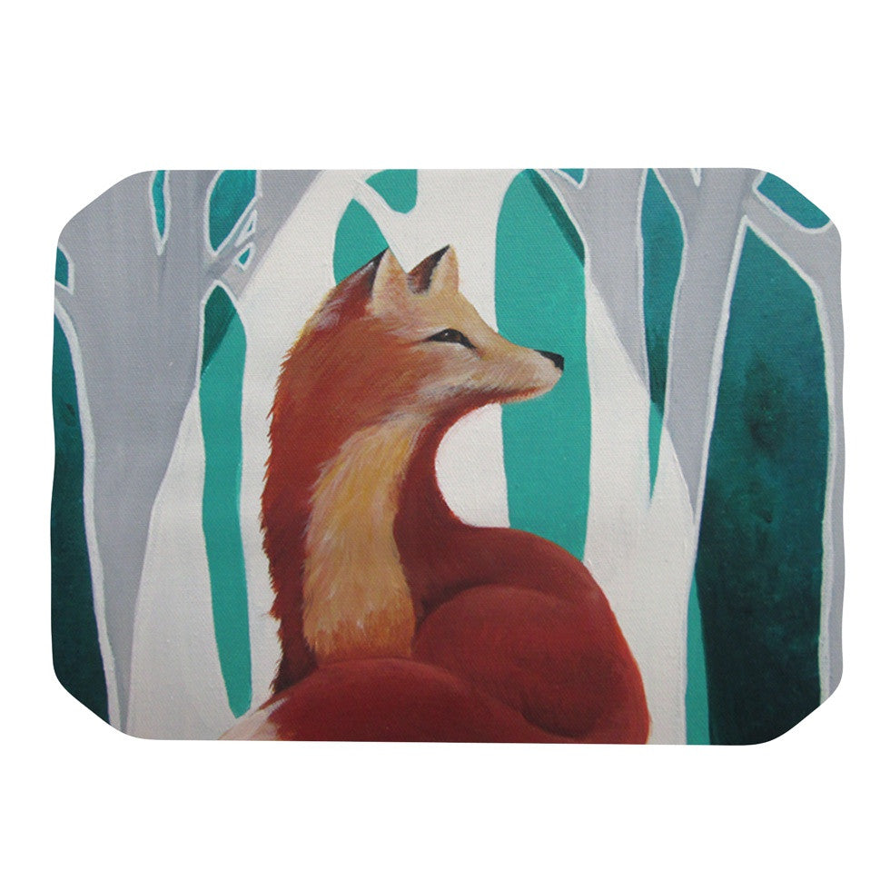 "Lydia Martin ""Fox Forest"" Place Mat - KESS InHouse"