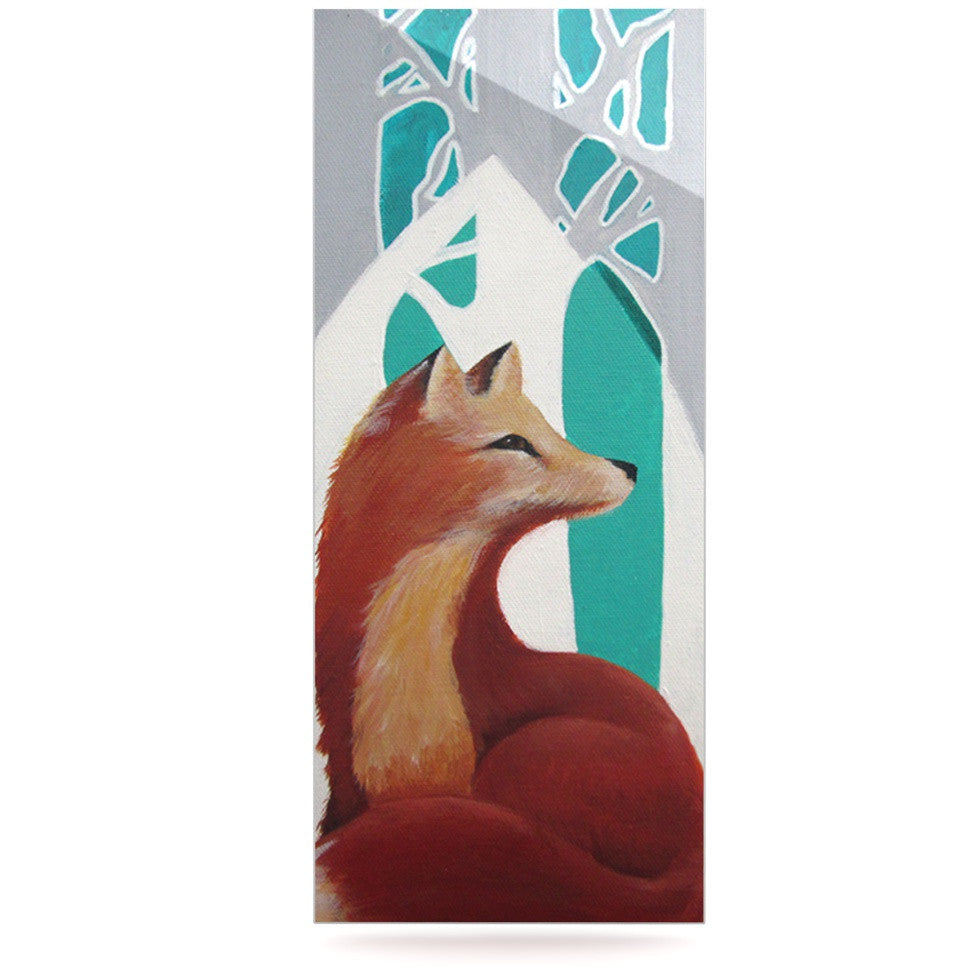 "Lydia Martin ""Fox Forest"" Luxe Rectangle Panel - KESS InHouse  - 1"
