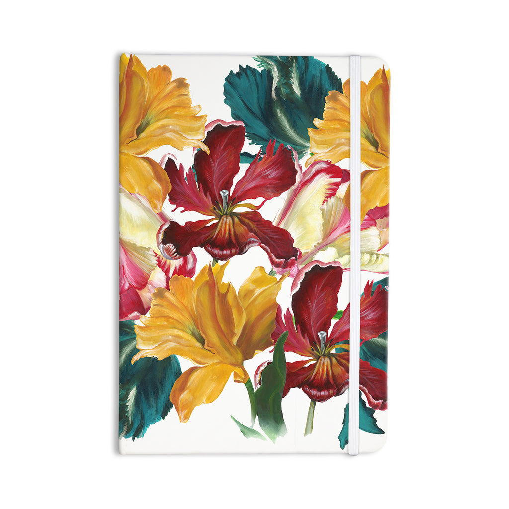 "Lydia Martin ""Flower Power"" Floral Rainbow Everything Notebook - KESS InHouse  - 1"