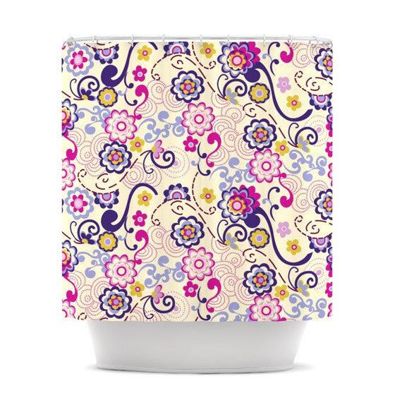 "Louise Machado ""Arabesque"" Shower Curtain - KESS InHouse"