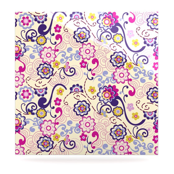 "Louise Machado ""Arabesque"" Luxe Square Panel - KESS InHouse  - 1"