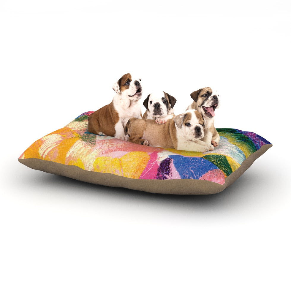"Louise Machado ""Texture"" Dog Bed - KESS InHouse  - 1"