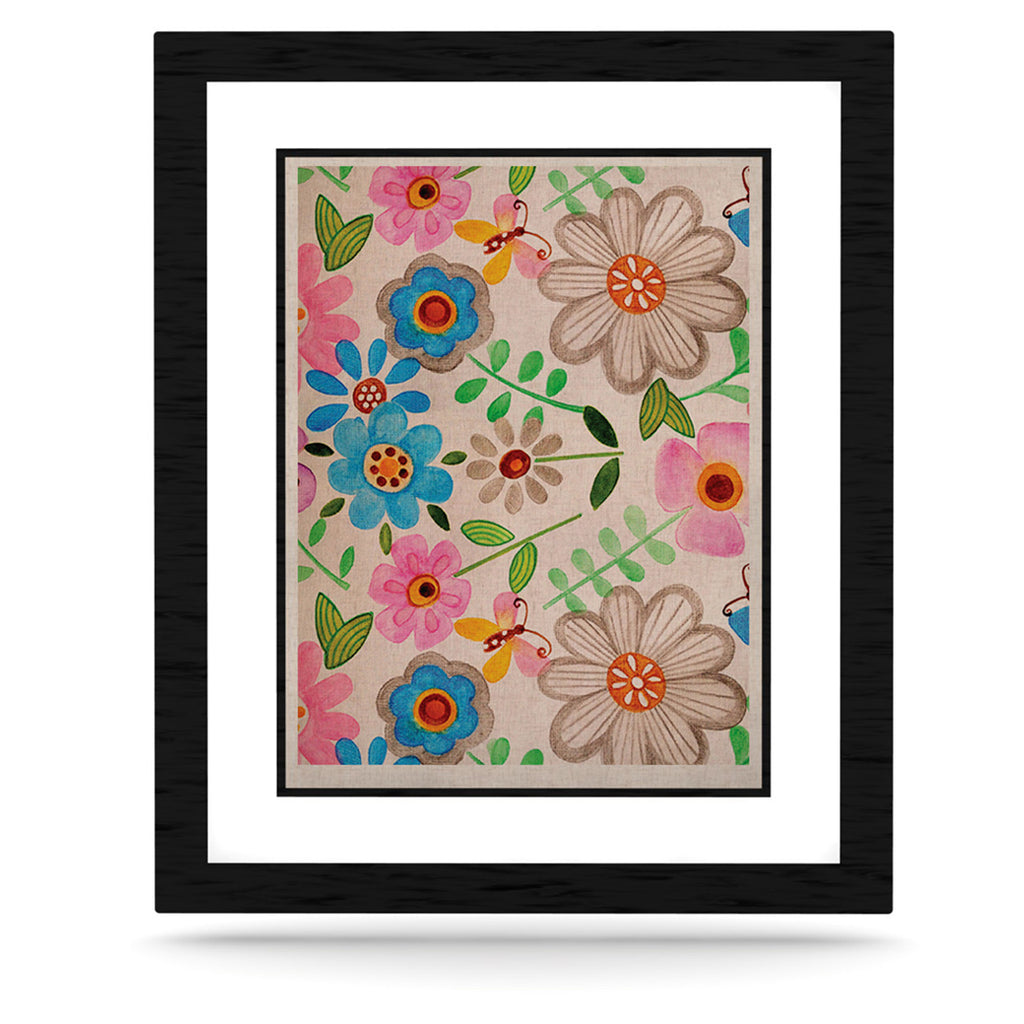 "Louise Machado ""The Garden"" KESS Naturals Canvas (Frame not Included) - KESS InHouse  - 1"