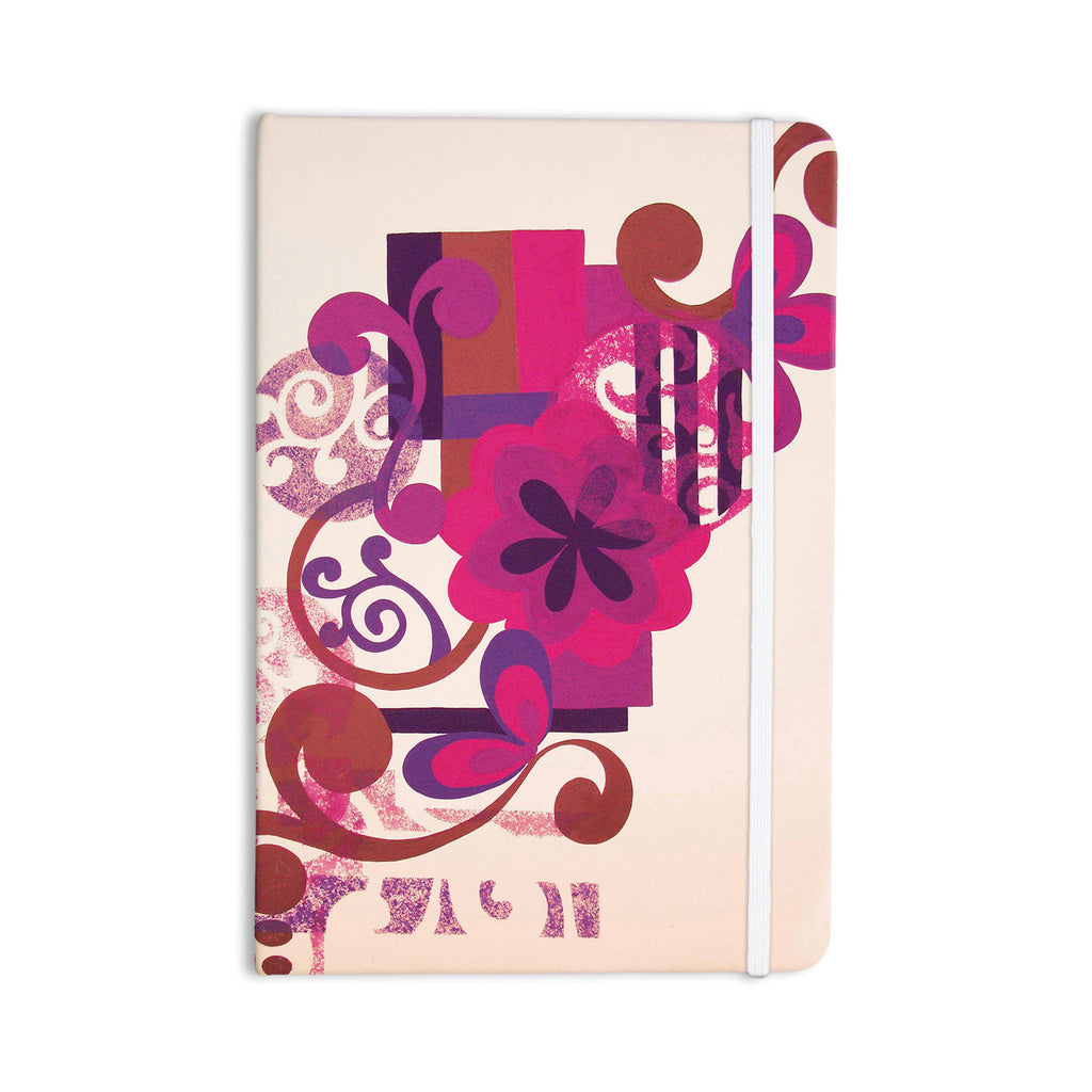"Louise Machado ""Lilac"" Everything Notebook - KESS InHouse  - 1"