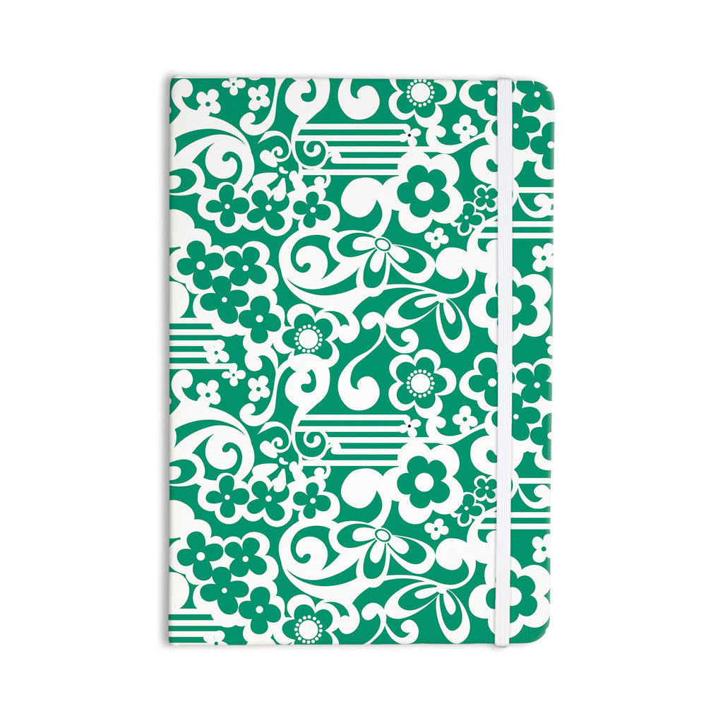 "Louise Machado ""Esmerald"" Everything Notebook - KESS InHouse  - 1"