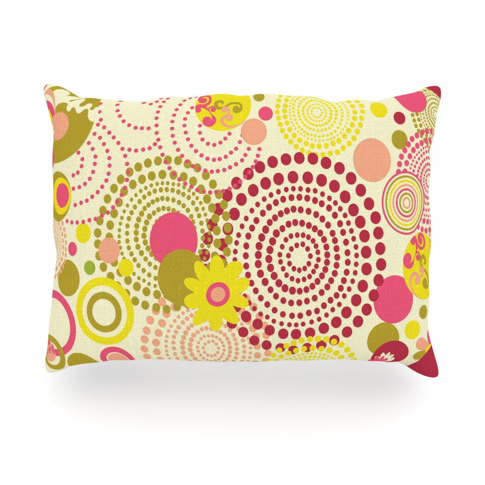 "Louise Machado ""Poa"" Oblong Pillow - KESS InHouse"