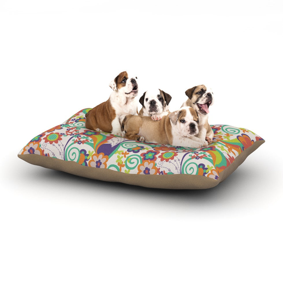 "Louise Machado ""Printemps"" Dog Bed - KESS InHouse  - 1"
